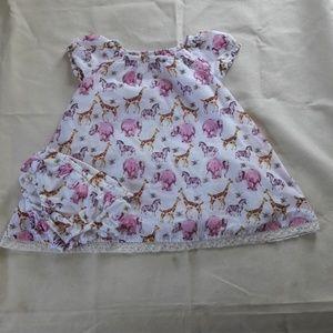 Maggie & Zoe little girls dress size 18M